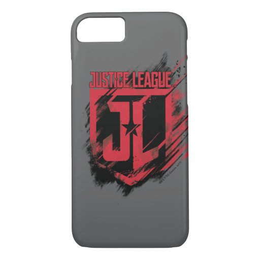 Justice League | Brushed Paint JL Shield iPhone 8/7 Case