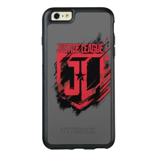 Justice League | Brushed Paint JL Shield OtterBox iPhone 6/6s Plus Case