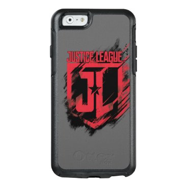 Justice League   Brushed Paint JL Shield OtterBox iPhone 6/6s Case