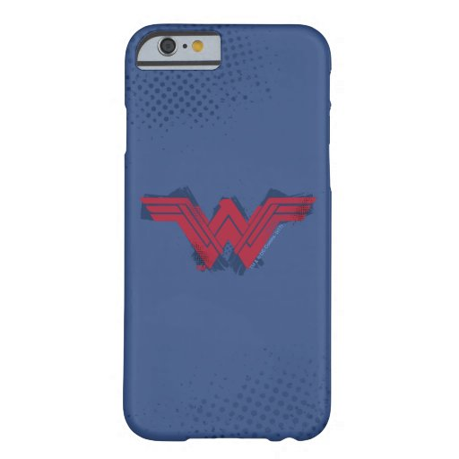 Justice League | Brushed Wonder Woman Symbol Barely There iPhone 6 Case