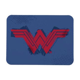 Justice League | Brushed Wonder Woman Symbol Magnet