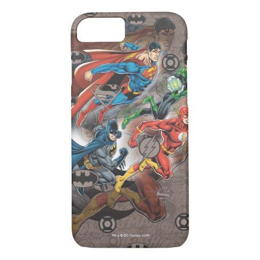 Justice League Collage iPhone 8/7 Case