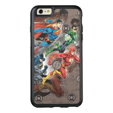 Justice League Collage OtterBox iPhone 6/6s Plus Case