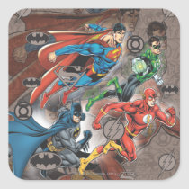 justice league, dc comic books, dc comics, Sticker with custom graphic design