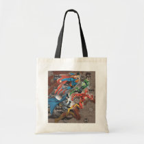 justice league, dc comic books, dc comics, Bag with custom graphic design