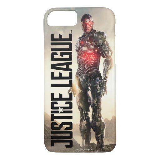 Justice League | Cyborg On Battlefield iPhone 8/7 Case