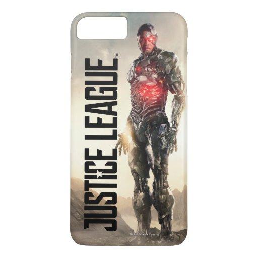 Justice League | Cyborg On Battlefield iPhone 8 Plus/7 Plus Case