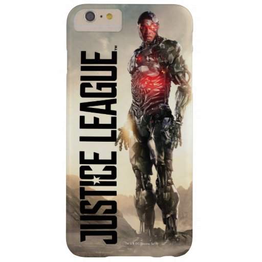 Justice League | Cyborg On Battlefield Barely There iPhone 6 Plus Case