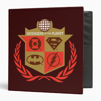 Justice League Defenders of the Planet Binder