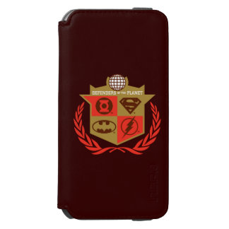 Justice League Defenders of the Planet iPhone 6/6s Wallet Case