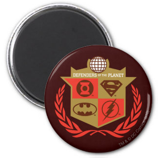 Justice League Defenders of the Planet Refrigerator Magnet