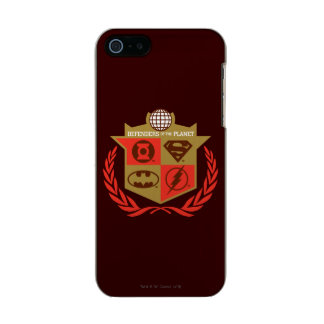Justice League Defenders of the Planet Metallic Phone Case For iPhone SE/5/5s