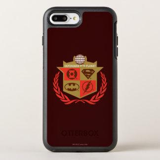 Justice League Defenders of the Planet OtterBox Symmetry iPhone 8 Plus/7 Plus Case