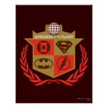 Justice League Defenders of the Planet Print