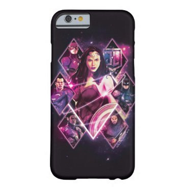 Justice League | Diamond Galactic Group Panels Barely There iPhone 6 Case