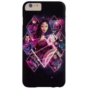 Justice League | Diamond Galactic Group Panels Barely There iPhone 6 Plus Case
