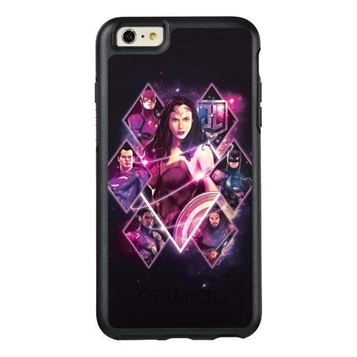 Justice League | Diamond Galactic Group Panels OtterBox iPhone 6/6s Plus Case