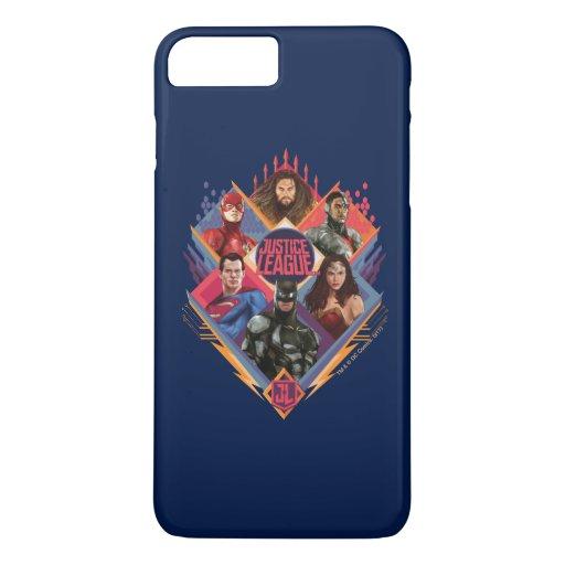 Justice League | Diamond Hatch Group Badge iPhone 8 Plus/7 Plus Case