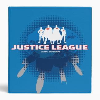Justice League Global Defenders Binder