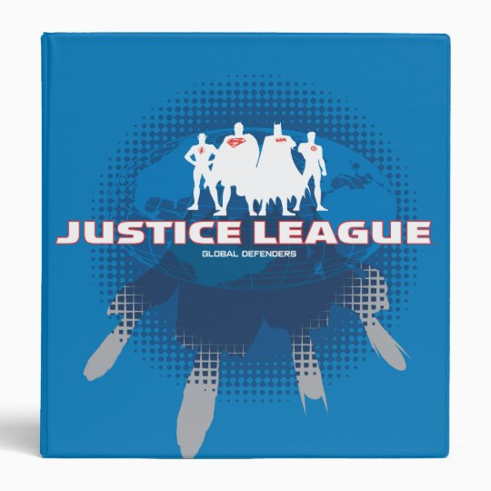 Justice League Global Defenders Binder