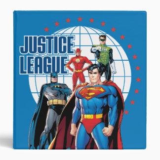 Justice League Global Heroes Binder