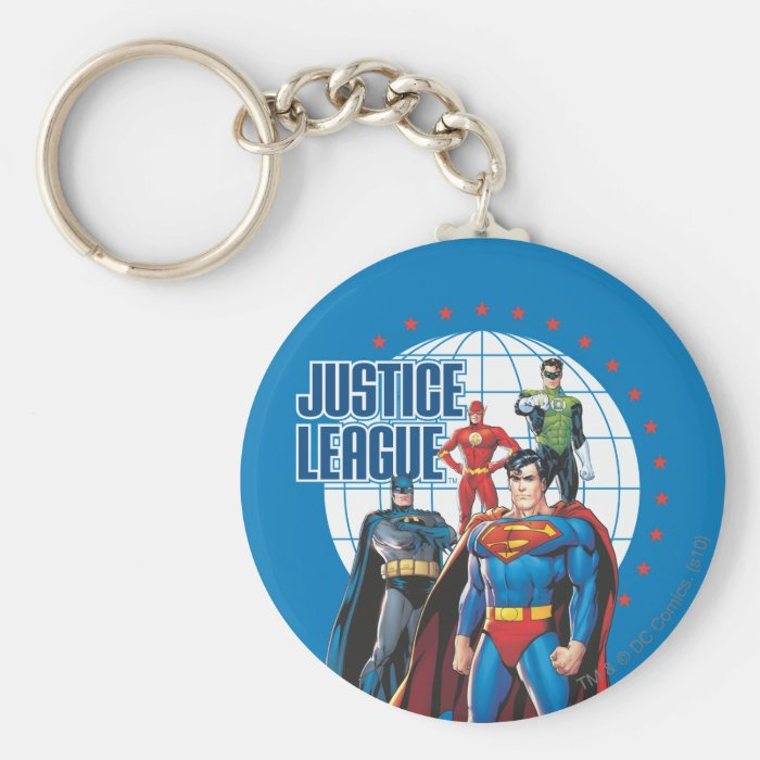 Justice League Global Heroes Keychain