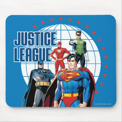 Justice League Global Heroes Mousepads