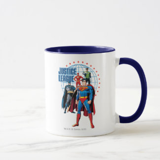 Justice League Global Heroes Mug