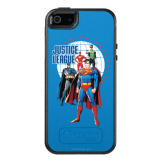 Justice League Global Heroes OtterBox iPhone 5/5s/SE Case