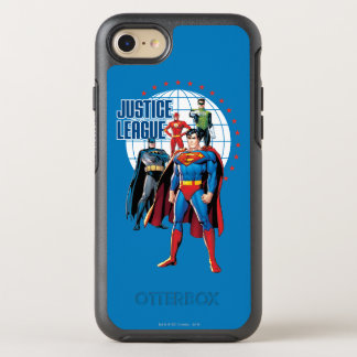 Justice League Global Heroes OtterBox Symmetry iPhone 7 Case