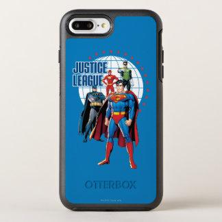 Justice League Global Heroes OtterBox Symmetry iPhone 8 Plus/7 Plus Case