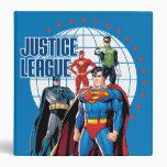 Justice League Global Heroes Vinyl Binders