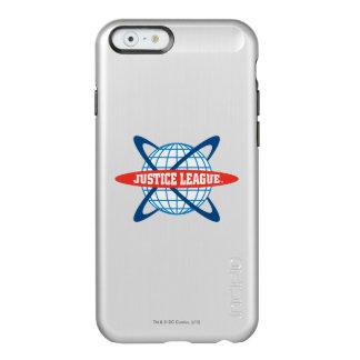 Justice League Globe Logo Incipio Feather Shine iPhone 6 Case