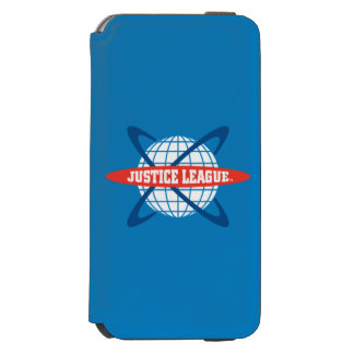 Justice League Globe Logo iPhone 6/6s Wallet Case