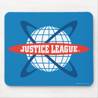 Justice League Globe Logo Mouse Pad