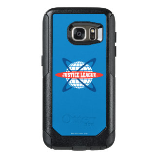 Justice League Globe Logo OtterBox Samsung Galaxy S7 Case