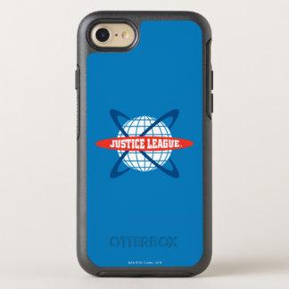 Justice League Globe Logo OtterBox Symmetry iPhone 7 Case
