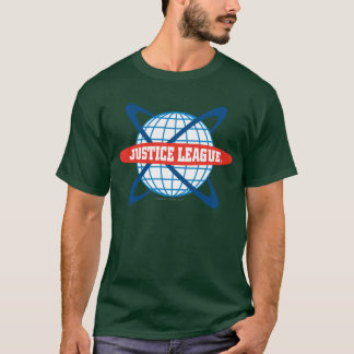 Justice League Globe Logo T-Shirt