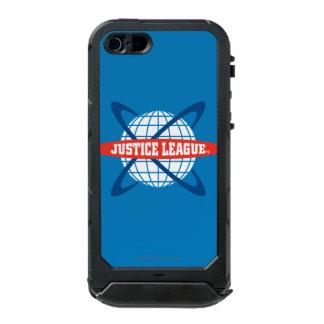 Justice League Globe Logo Waterproof iPhone SE/5/5s Case