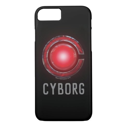 Justice League | Glowing Cyborg Symbol iPhone 8/7 Case