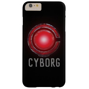 Justice League   Glowing Cyborg Symbol Barely There iPhone 6 Plus Case