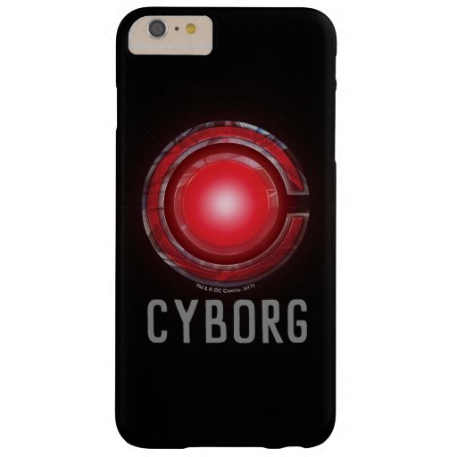 Justice League | Glowing Cyborg Symbol Barely There iPhone 6 Plus Case