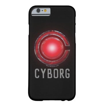 Justice League   Glowing Cyborg Symbol Barely There iPhone 6 Case