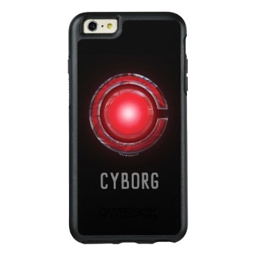 Justice League   Glowing Cyborg Symbol OtterBox iPhone 6/6s Plus Case