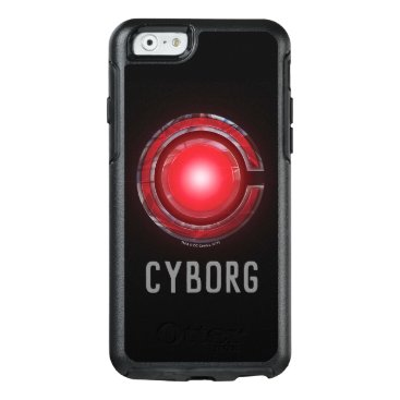 Justice League   Glowing Cyborg Symbol OtterBox iPhone 6/6s Case