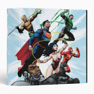 Justice League - Group 1 Binder