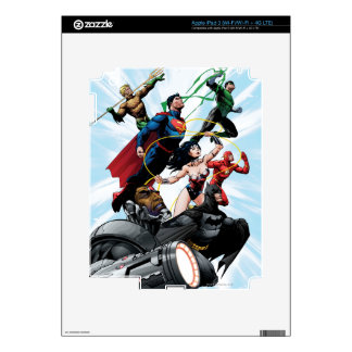 Justice League - Group 1 iPad 3 Decals