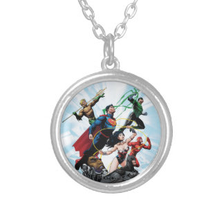 Justice League - Group 1 Silver Plated Necklace