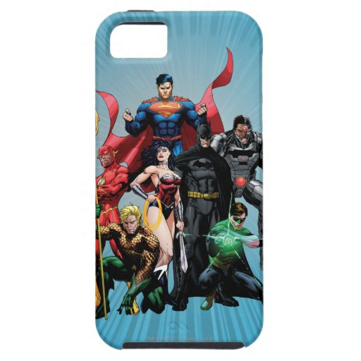 Justice League - Group 2 iPhone SE/5/5s Case