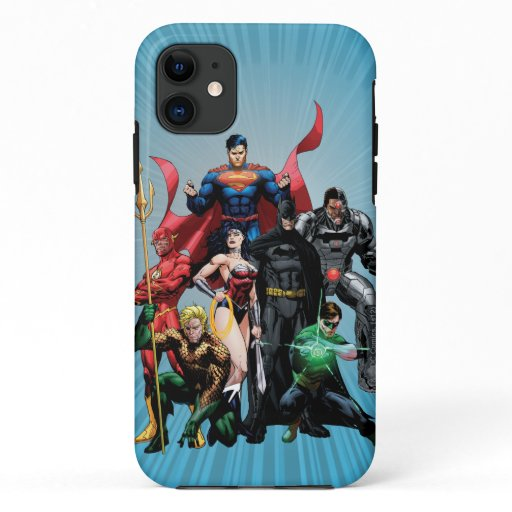 Justice League - Group 2 iPhone 11 Case
